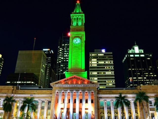 Brisbane City Hall, Brisbane, Queensland, Australia