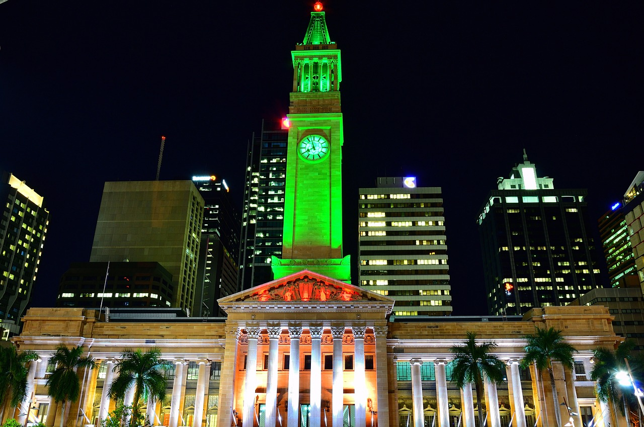 Brisbane City Hall, Brisbane, Queensland, Australia