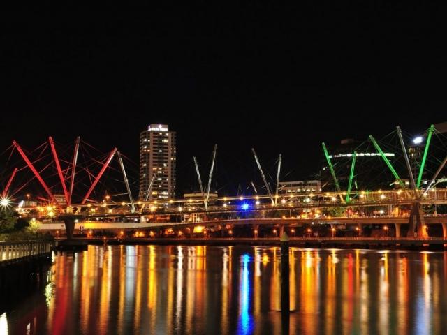 Kurilpa Bridge - Brisbane, Queensland, Australia