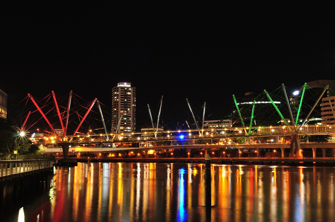 Kurilpa Bridge - Brisbane, Queensland, Australia